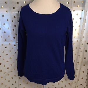 Cable & Gauge Medium Royal Blue Sweater